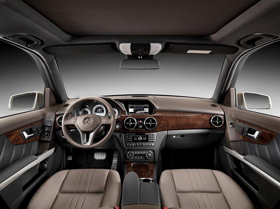 2013 Mercedes-Benz GLK-Class Interior