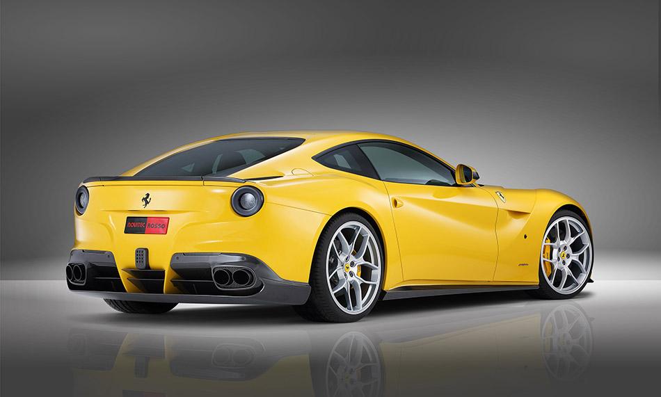 2013 NOVITEC ROSSO Ferrari F12berlinetta Rear Angle
