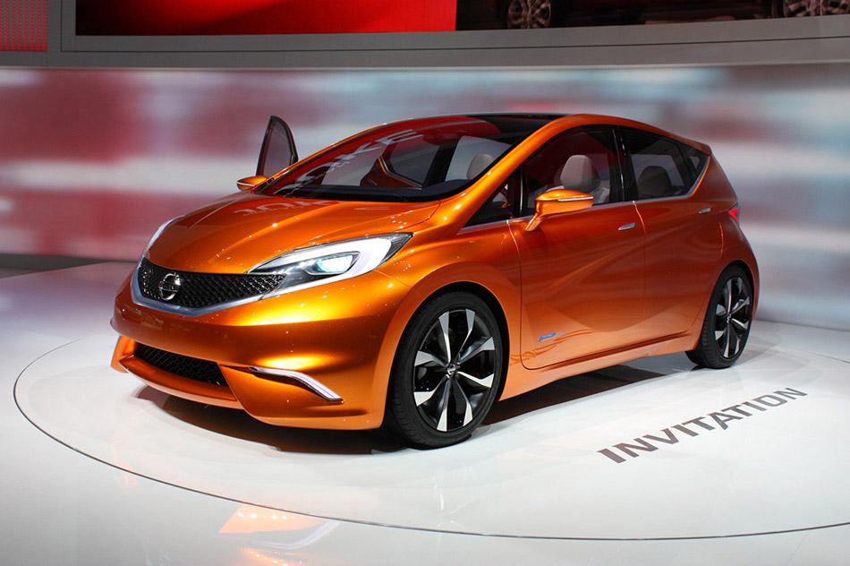 2013 Nissan Invitation Concept Side