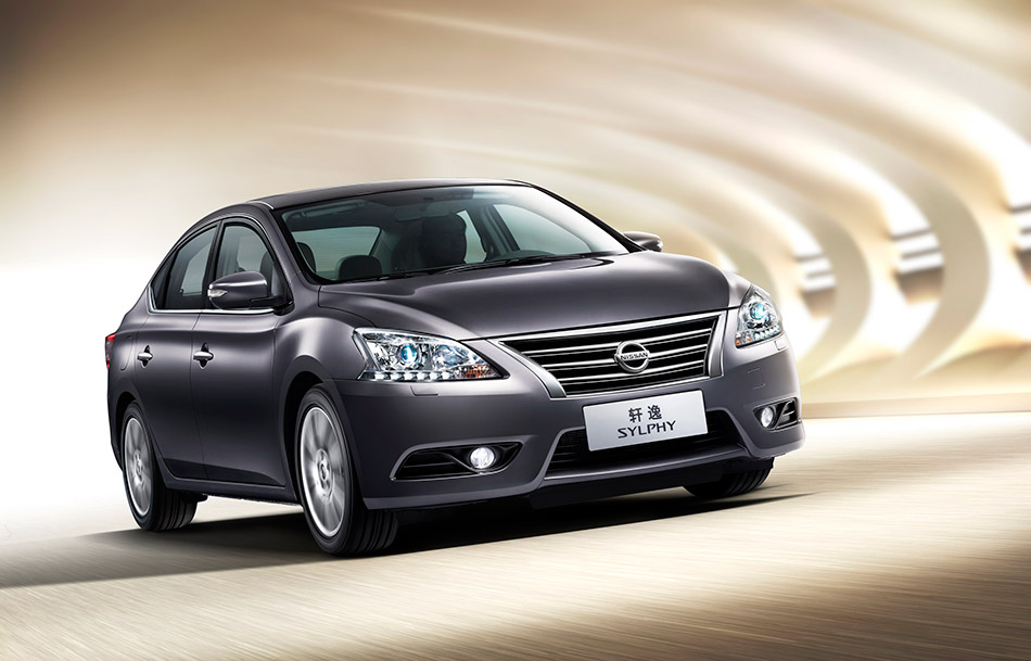2013 Nissan Sylphy/Sentra Front Angle