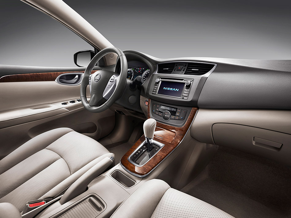 2013 Nissan Sylphy/Sentra Interior