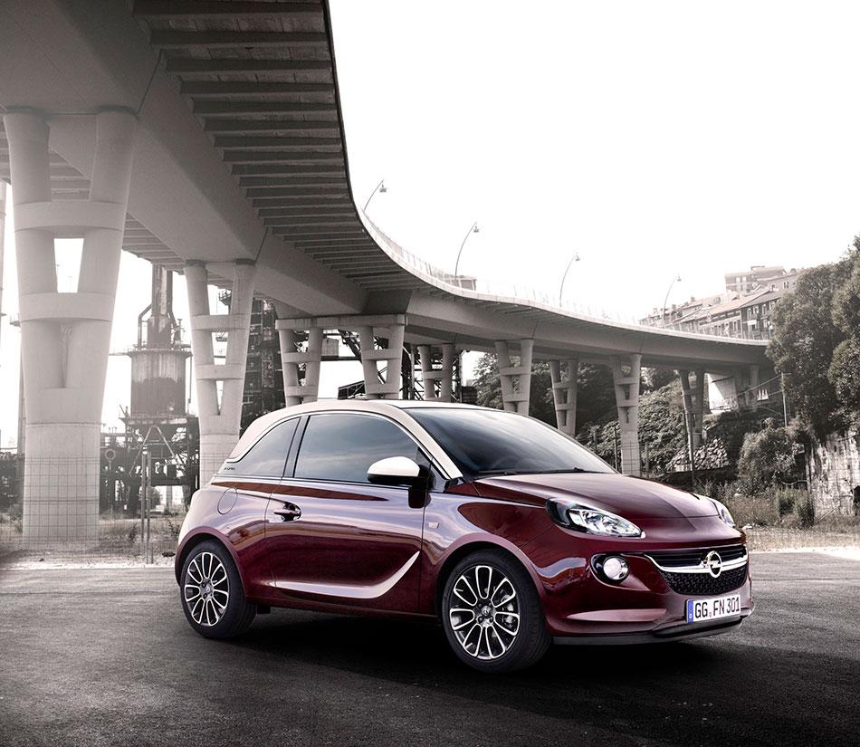 2013 Opel Adam Front Angle