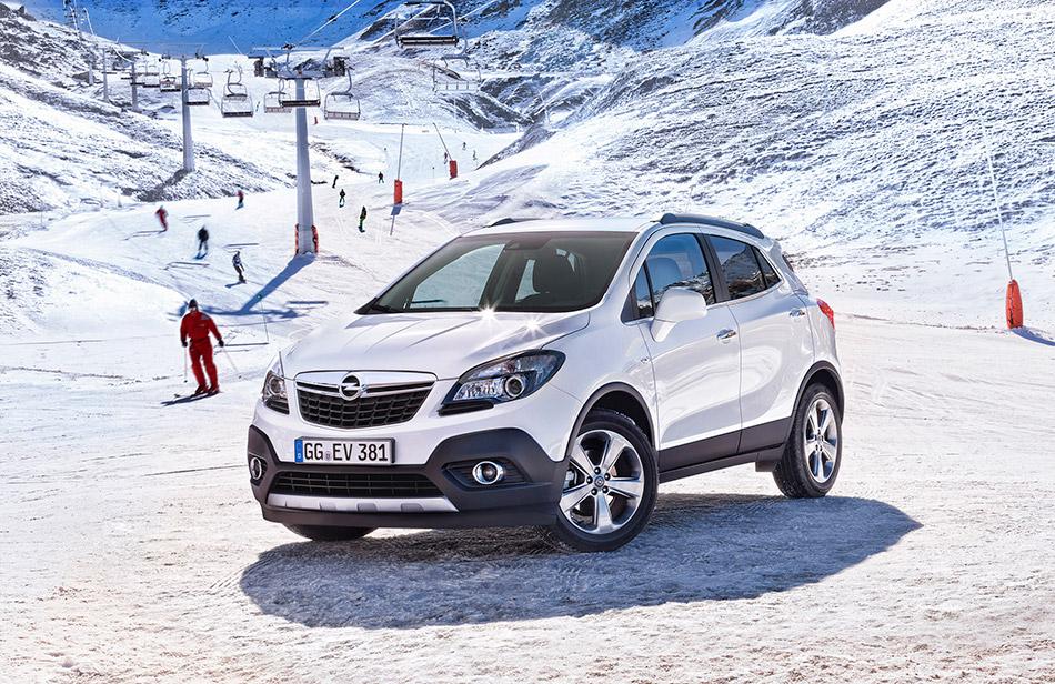 2013 Opel Mokka Front Angle