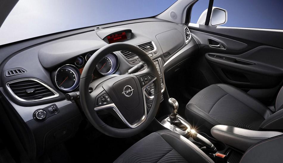 2013 Opel Mokka Interior