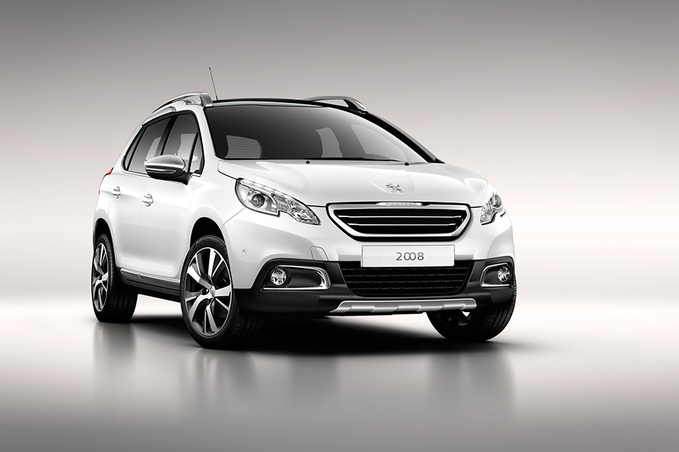 2013 Peugeot 2008 Front Angle