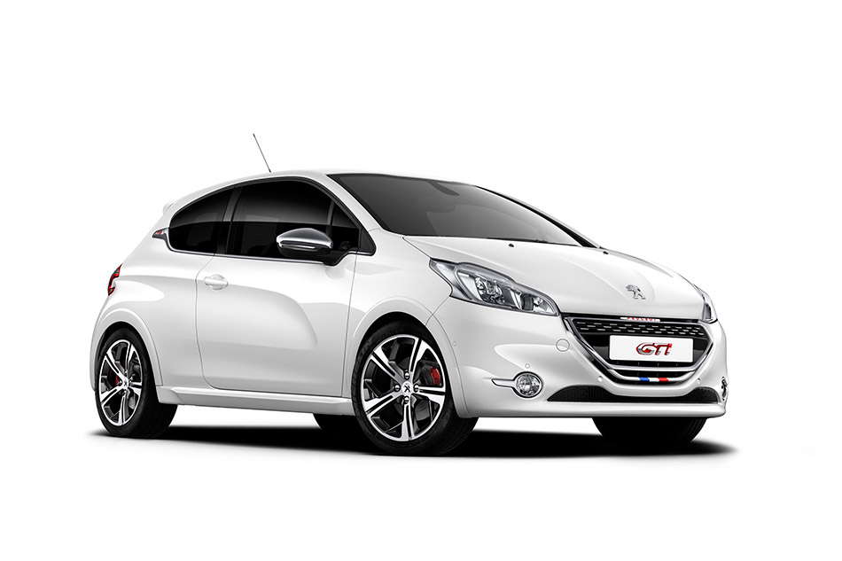 2013 Peugeot 208 GTi Front Angle