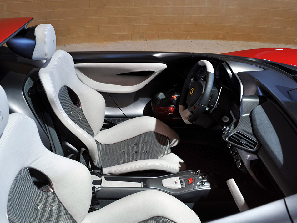 2013 Pininfarina Sergio Concept  Interior
