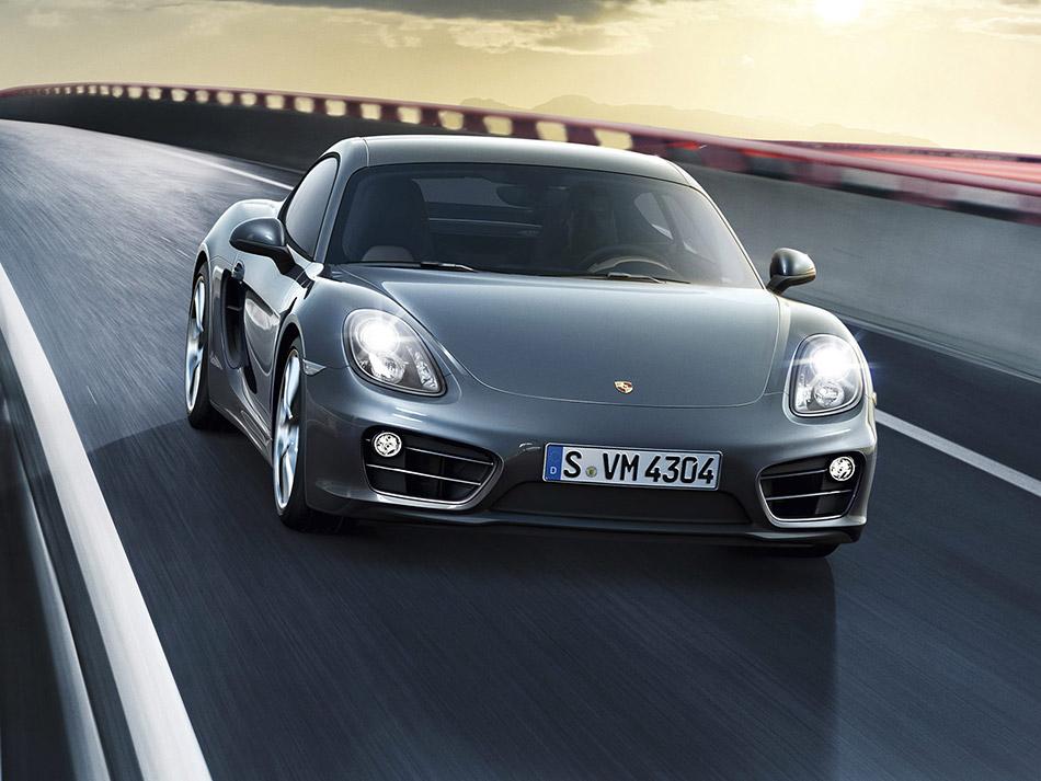 2013 Porsche Cayman Front Angle