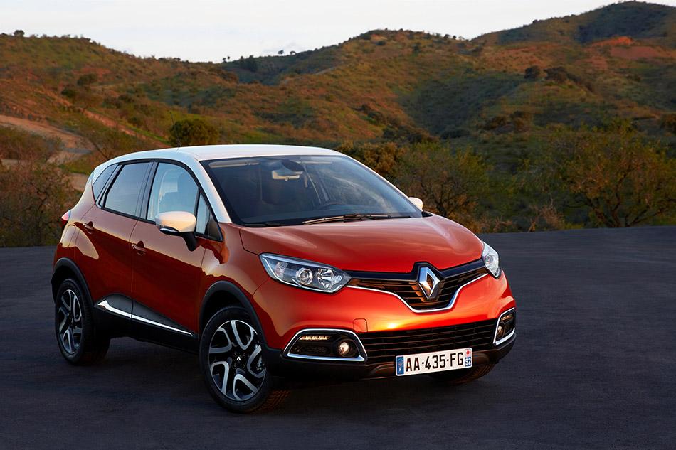 2013 Renault Captur Front Angle