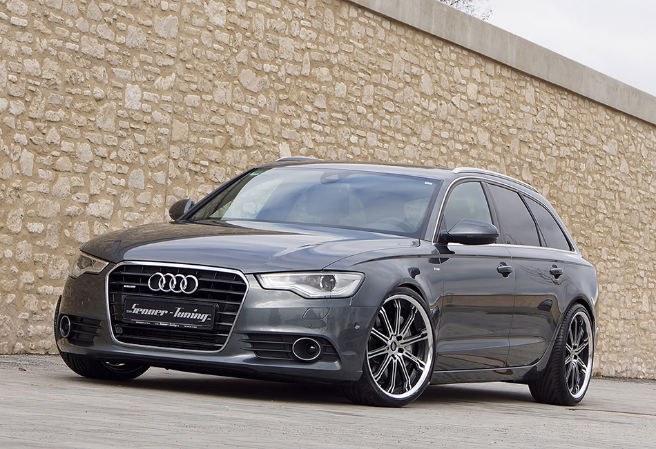 2013 Senner Tuning AG Audi A6 4G Front Angle