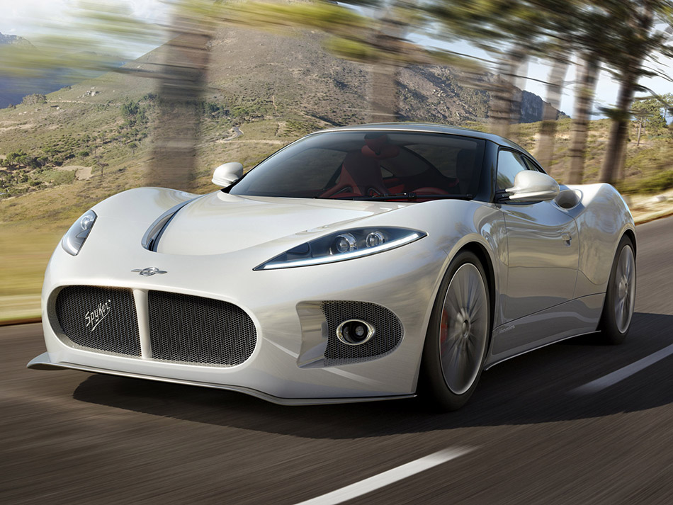 2013 Spyker B6 Venator Concept Front Angle