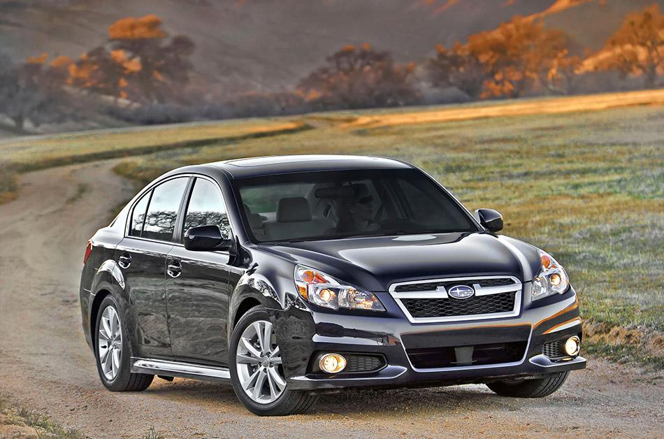 2013 Subaru Legacy Front Angle
