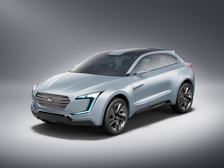 2013 Subaru Viziv Concept Front Angle