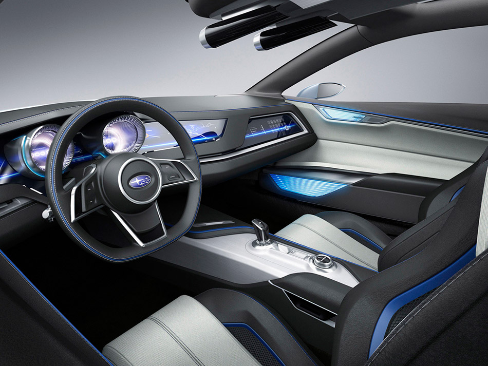 2013 Subaru Viziv Concept Interior