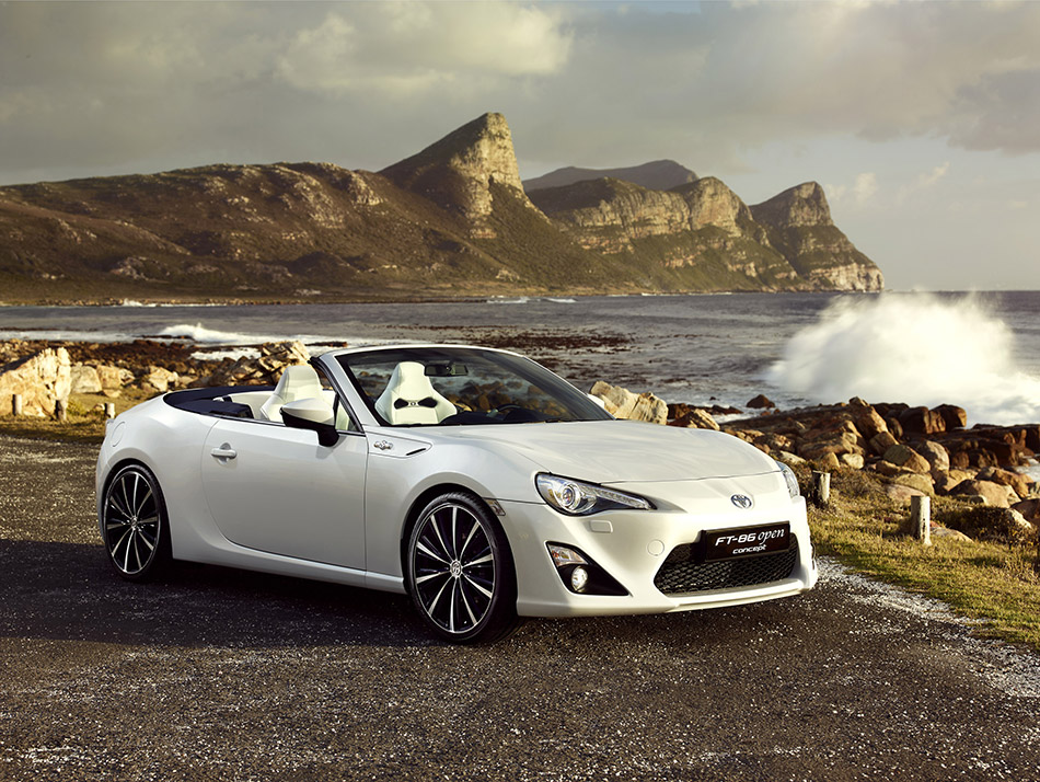 2013 Toyota FT-86 Open Concept  Front Angle