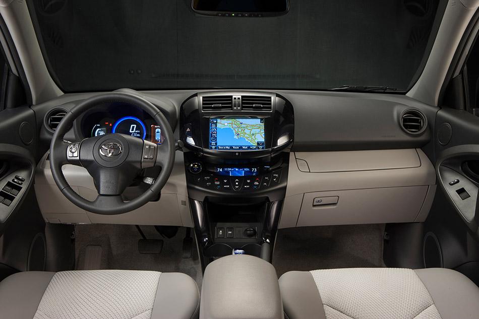 2013 Toyota RAV4 EV Interior