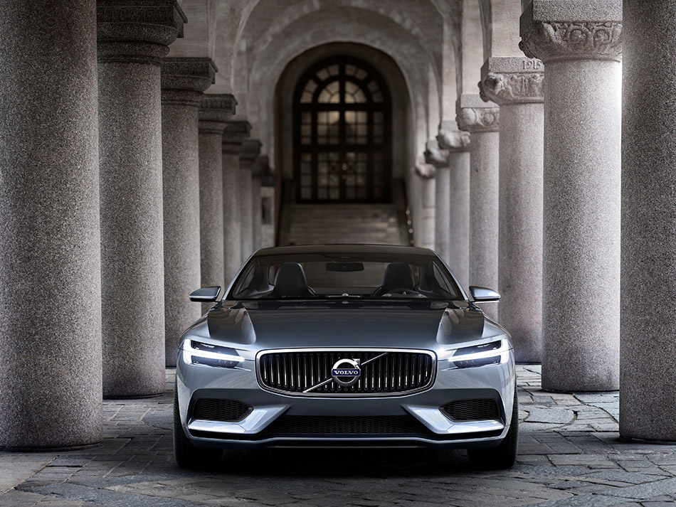 2013 Volvo Concept Coupe P1800 Front