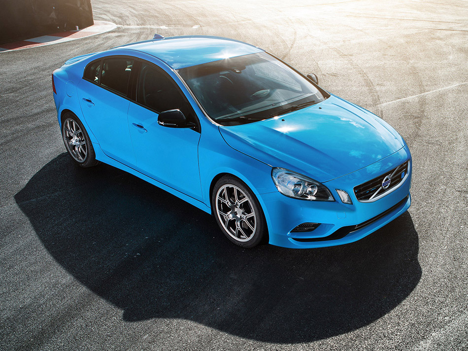 2013 Volvo S60 Polestar Performance Concept Front Angle