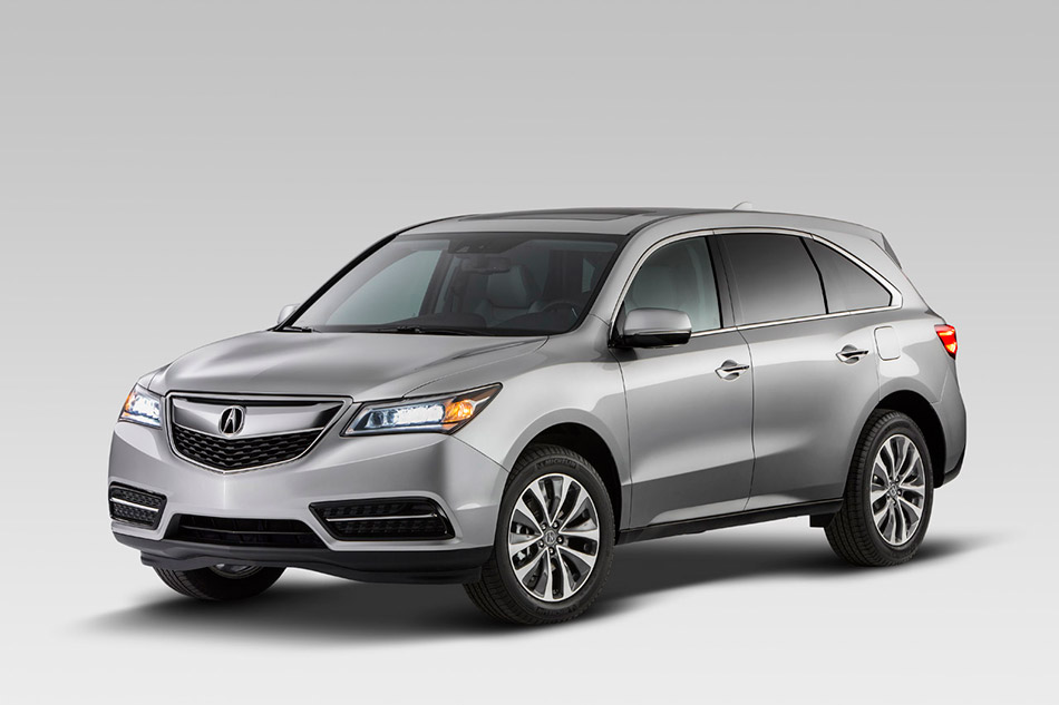 2014 Acura MDX Front Angle