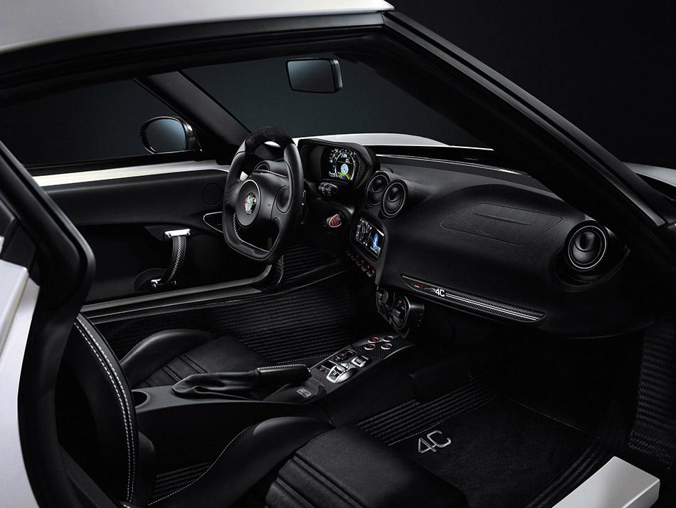 2014 Alfa Romeo 4C Interiror