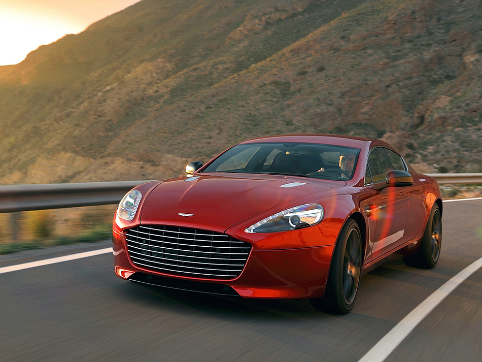 2014 Aston Martin Rapide S Front Angle