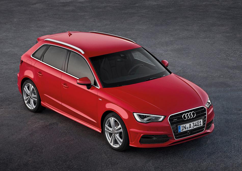 2014 Audi A3 Sportback Front Angle