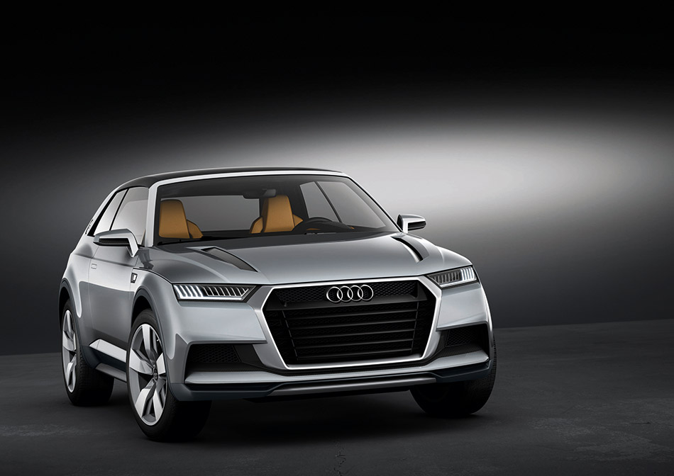 2014 Audi Crosslane Coupe Concept Front Angle