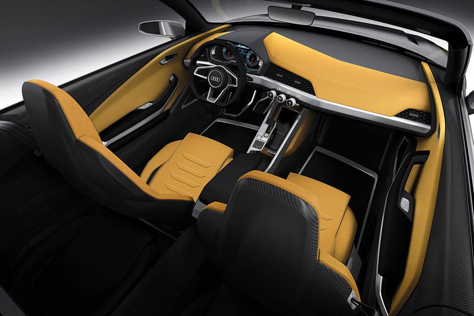 2014 Audi Crosslane Coupe Concept Interior