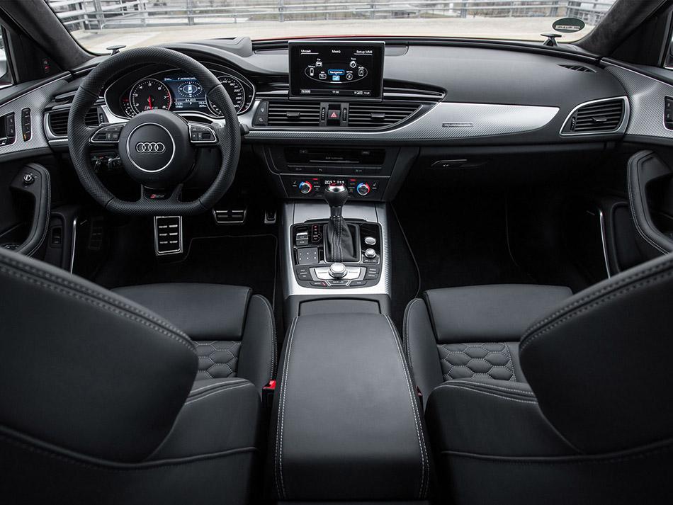 2014 Audi RS 6 Avant Interior
