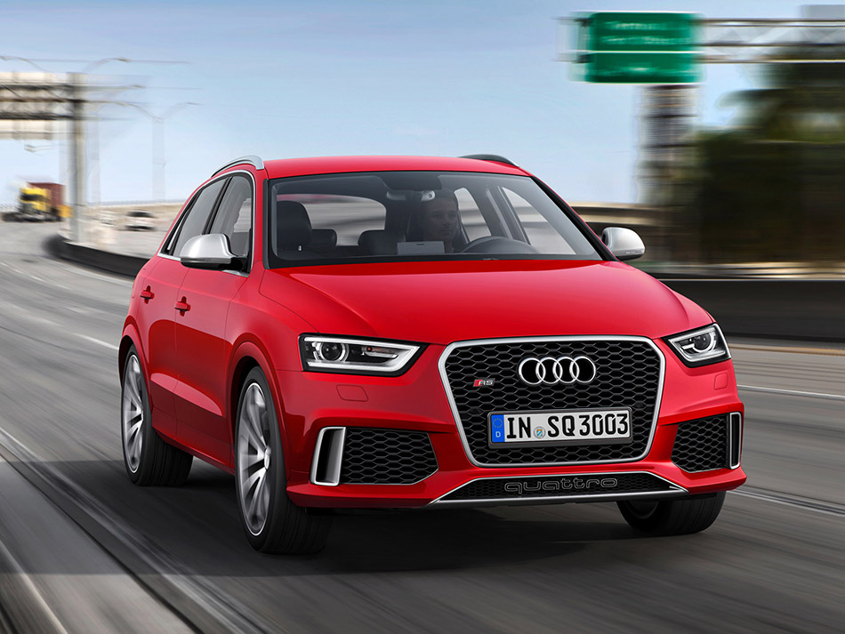 2014 Audi RS Q3 Front Angle