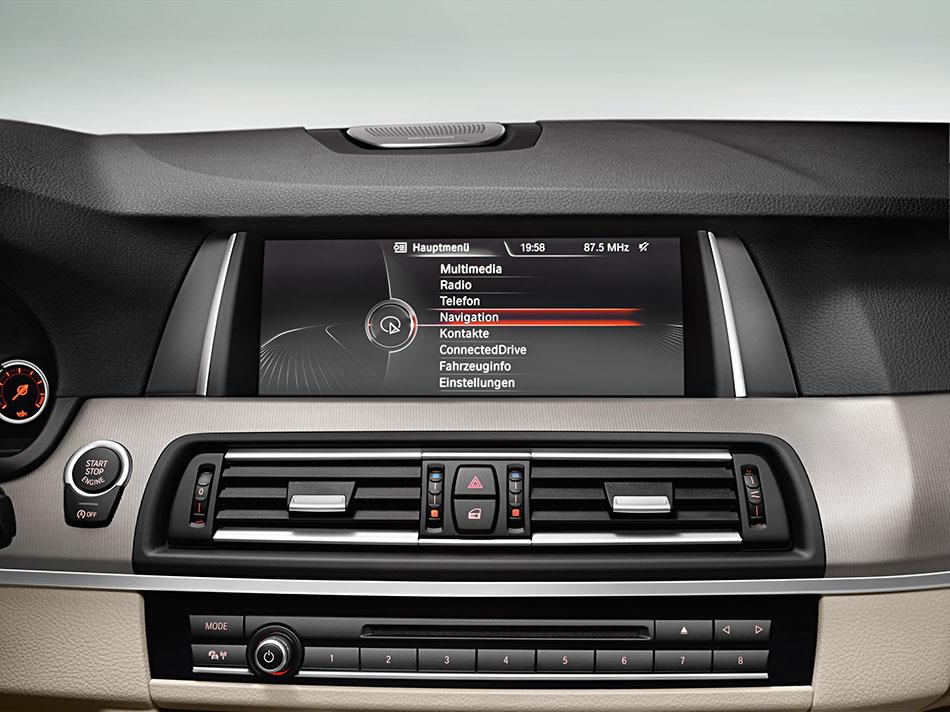 2014 BMW 5 Series Navigation