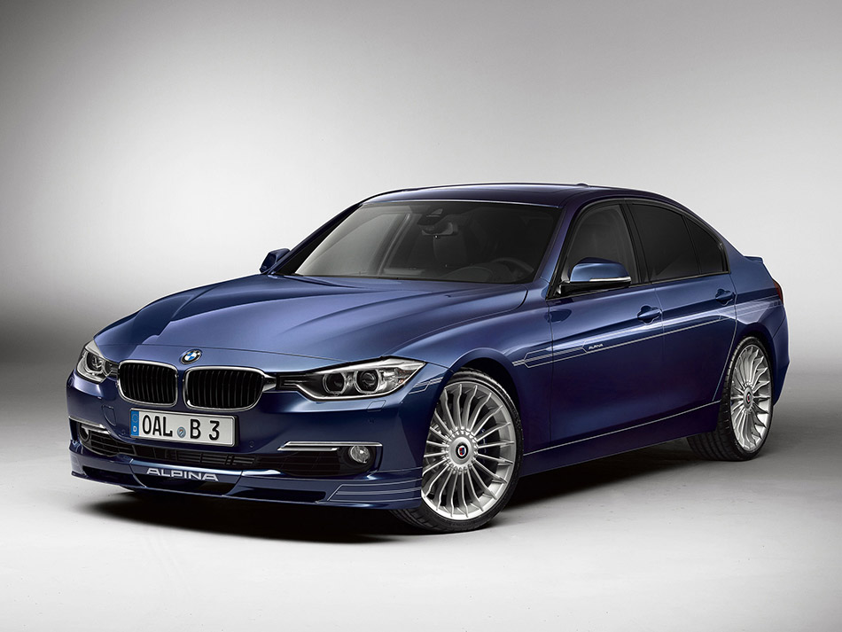 2014 BMW Alpina B3 Front Angle