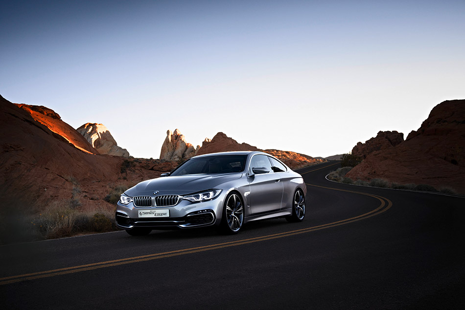2014 BMW Concept 4-Series Coupe Front Angle