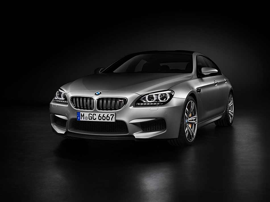 2014 BMW M6 Gran Coupe Front Angle