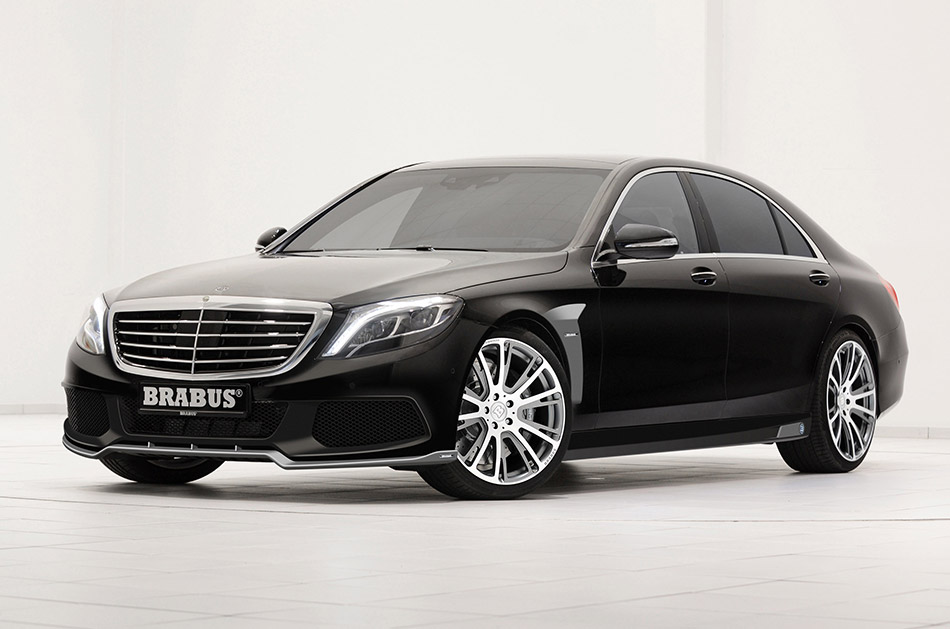 2014 Brabus B63S-730 Mercedes-Benz S-class Front Angle