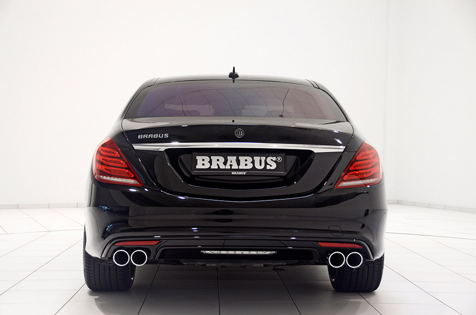2014 Brabus B63S-730 Mercedes-Benz S-class Rear