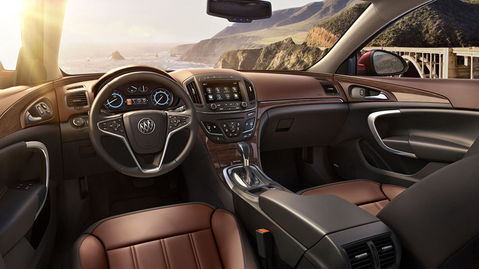 2014 Buick Regal Interior