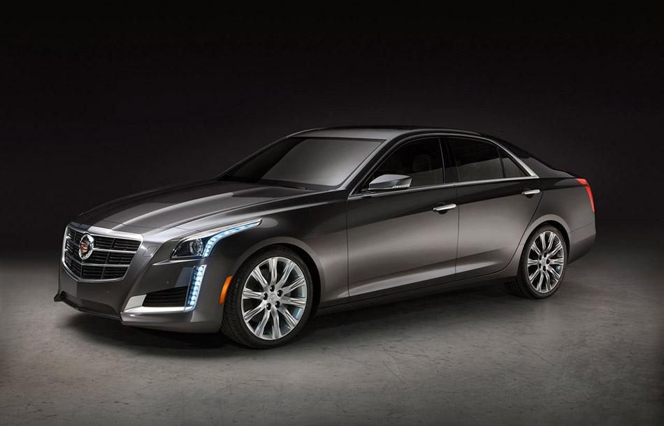 2014 Cadillac CTS Front Angle