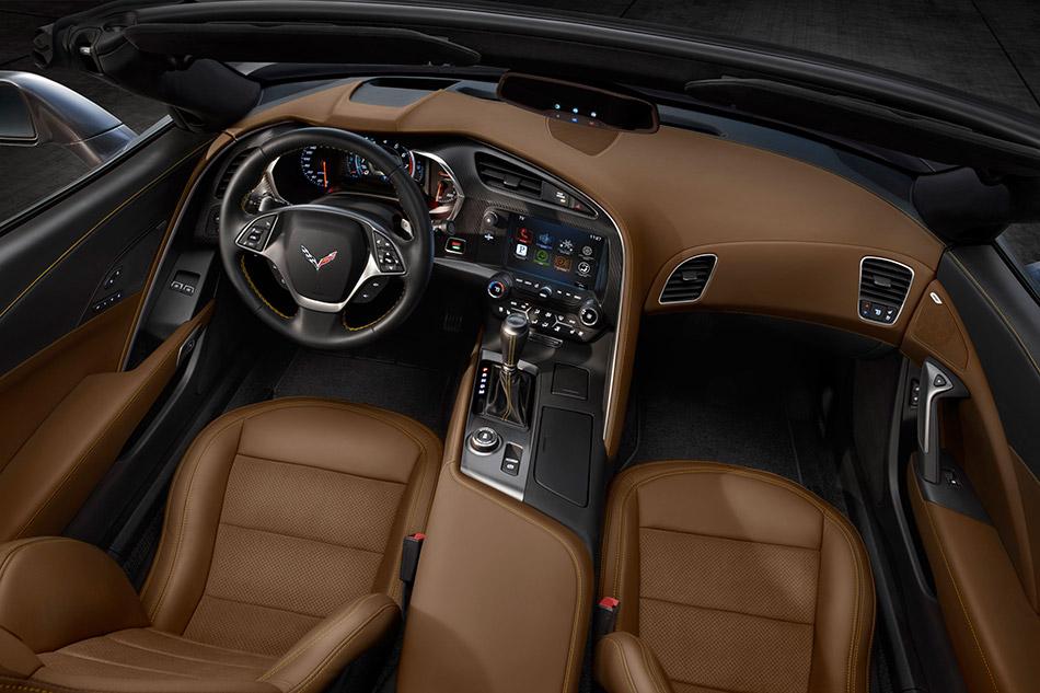 2014 Chevrolet Corvette Stingray Convertible Interior