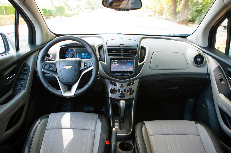 2014 Chevrolet-Holden Trax Interior