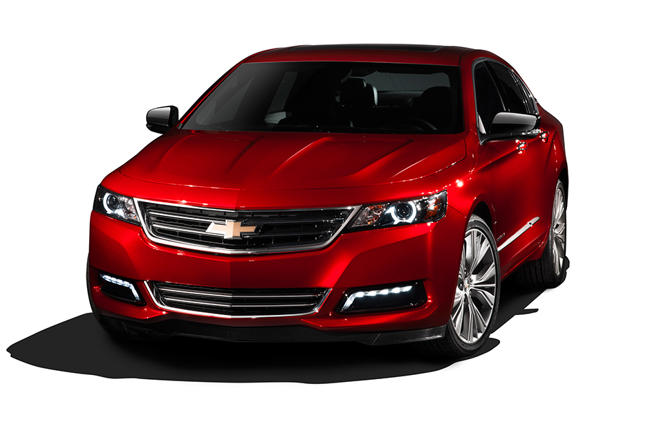2014 Chevrolet Impala Front Angle