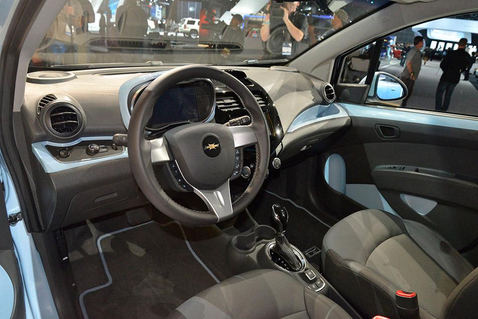 2014 Chevrolet Spark EV Interior