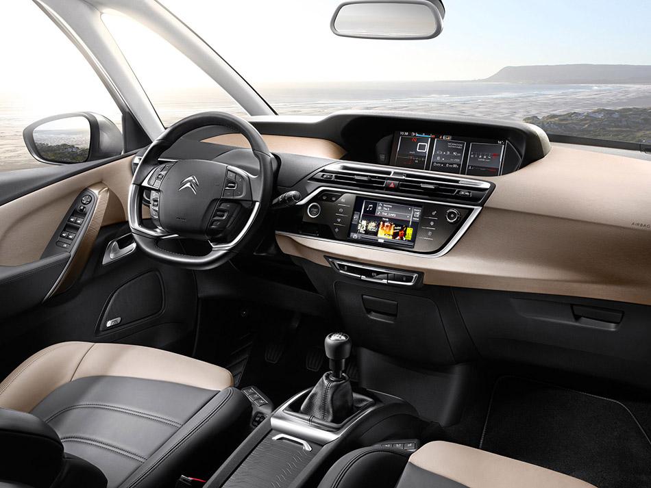2014 Citroen C4 Picasso Interior