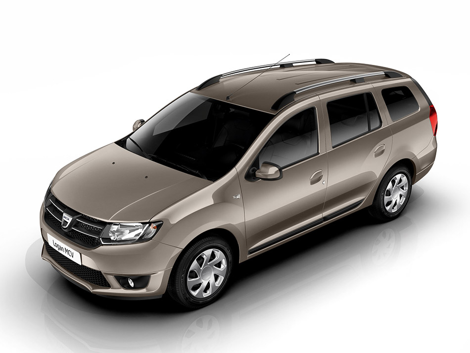 2014 Dacia Logan MCV Front Angle