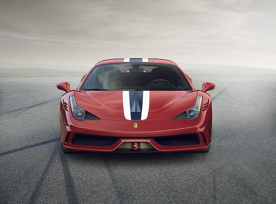 2014 Ferrari 458 Speciale Front