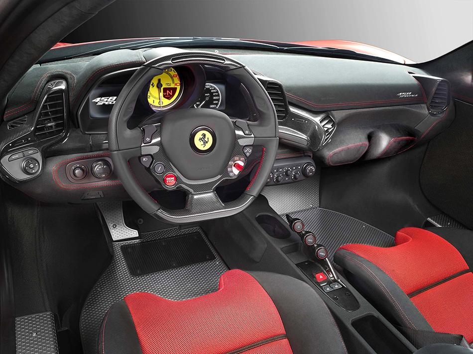 2014 Ferrari 458 Speciale Interior