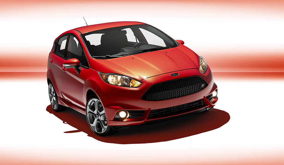 2014 Ford Fiesta ST Front Angle