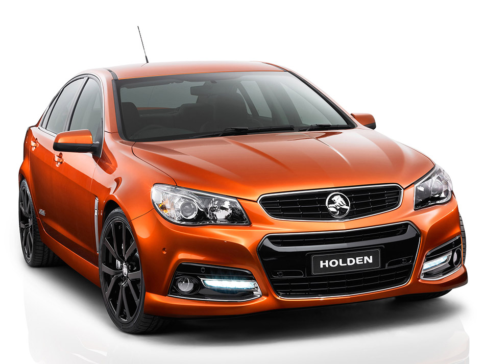 2014 Holden Commodore-Chevrolet SS Front Angle