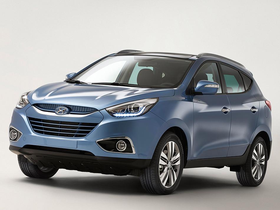 2014 Hyundai ix35 Front Angle