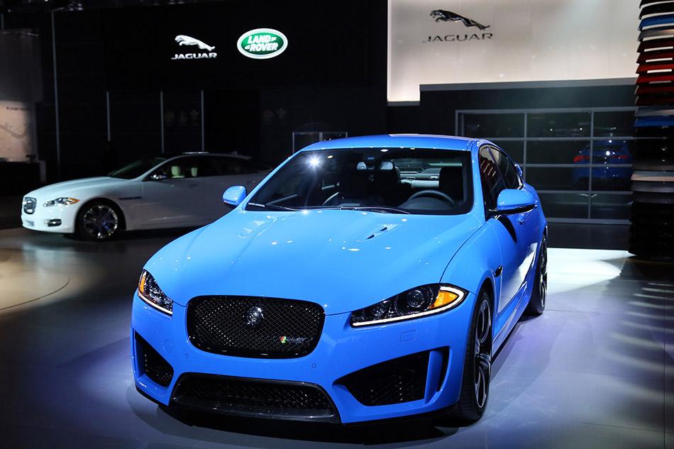 2014 Jaguar XFR-S Front Angle